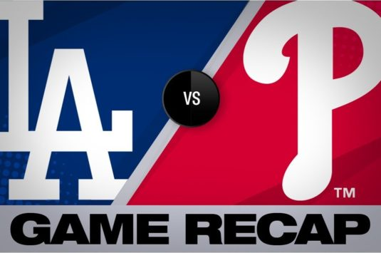 Baseball MLB : Dodgers vs Phillies